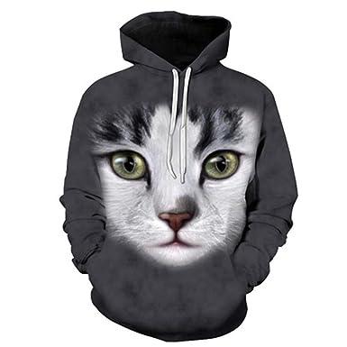 946be8957bc2 Amazon.com  Men Women Casual Elk Sweatshirts Wo Hoodies Anime Tracksuit  Cool 3D Print Pullover Autumn Winter Outdoor Sport Coat Tops  Clothing