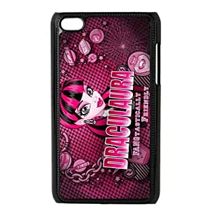 Customiz Cartoon Game Monster High Back Case for ipod Touch 4 JNIPOD4-1418