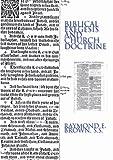 Biblical Exegesis and Church Doctrine, Raymond E. Brown, 159244024X