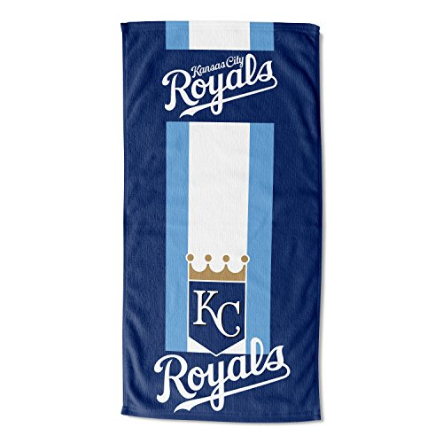 Officially Licensed MLB Kansas City Royals Zone Read Beach Towel, 30
