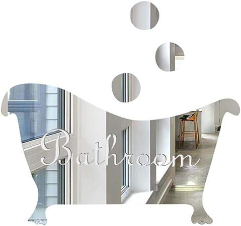 Animaux dans Le Bain Douche Stickers Muraux Salle De Bains Bulles Stickers pour Les Enfants Chambre B/éb/é Accueil D/écoration Art Stickers D/écorations