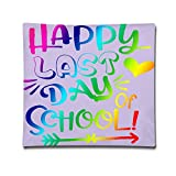 Wed4d548w7 Girls Happy Last Day Of School Fashion Style Pillowcase