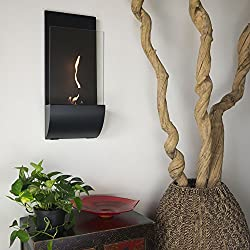 Nu-Flame Torcia Wall Mounted Ethanol Fireplace