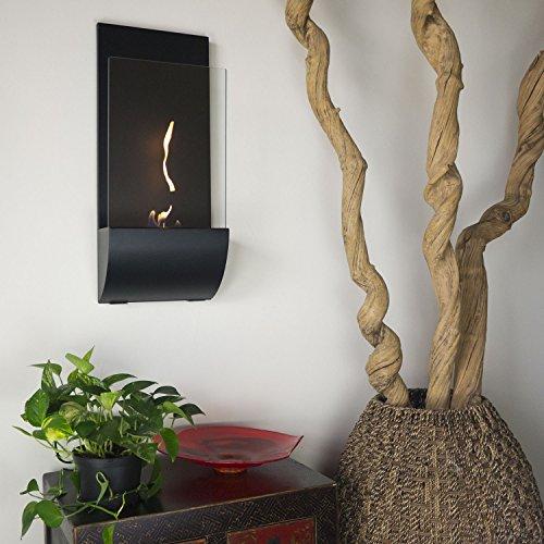 Nu-Flame Torcia Wall Mounted Bio Ethanol Fuel Fireplace