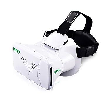 VR auriculares con Bluetooth mando a distancia, loietnt auriculares 3d Vr gafas realidad Virtual para