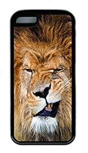iPhone 5C Cases & Covers - Lion Grin TPU Custom Soft Case Cover Protector for iPhone 5C¿CBlack