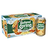 Poland Spring Sparkling Water, Orange, 12 oz. Cans (Pack of 8)