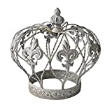 Cheung's FP-3631C White Crown Table Décor, White