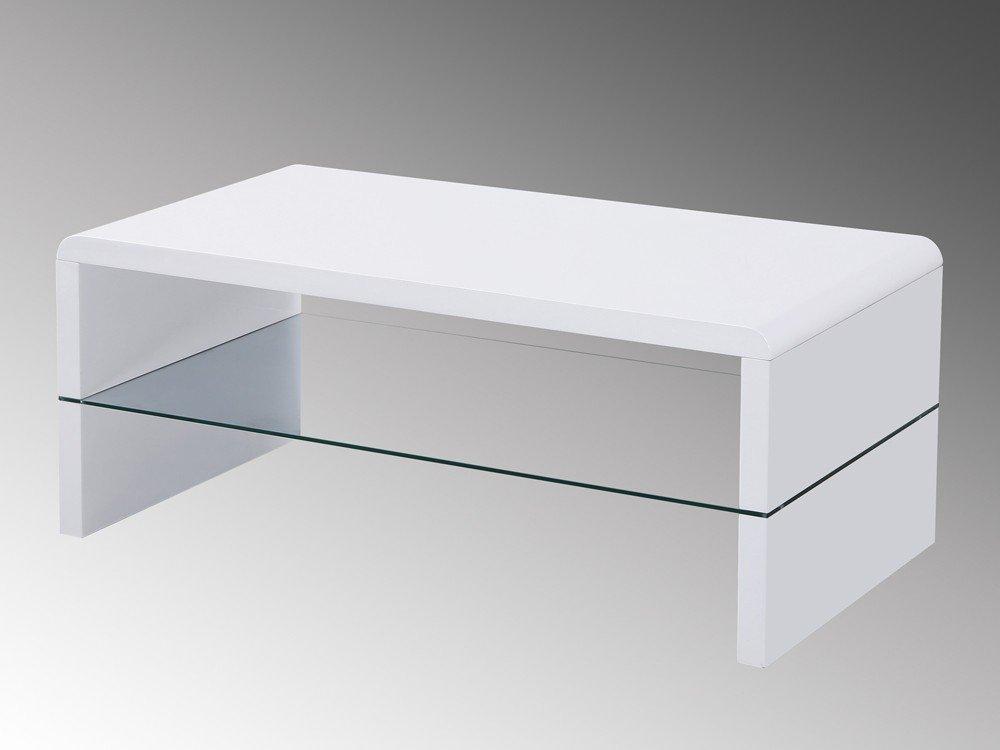 Concept Glas Mit 86 Couchtisch Hochglanz Weiß Wohnzimmertisch