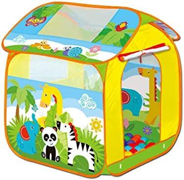 LIUFS Juego para niños Valla Ocean Ball Pool Carpa Choza Bobo Ball ...