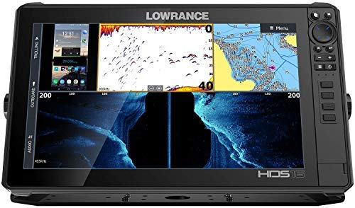 Lowrance 000-14434-001 HDS LIVE 16 Sonar Fish Finder with Active Imaging 3-in-1 Transducer