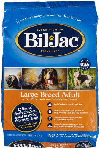 Bil-Jac 319065 Large Breed Select Dry Food For Dogs, 15-Pound For Sale
