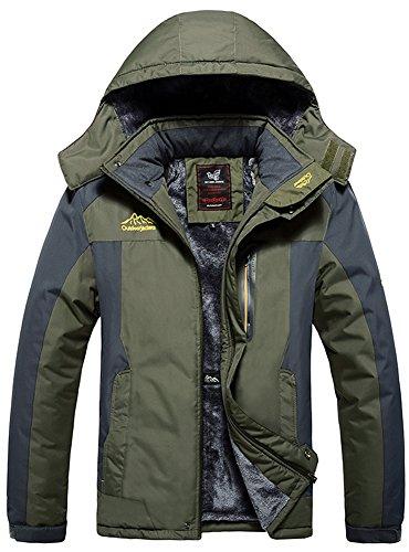 Jacket Green Mountain Campeggio Sportwear Coat Working Da Impermeabile Outdoor Vello Cappuccio Army Sci Neve Uomo Rain Mochoose Con Windbreaker Pesca Caccia Giacche 1wFqnHSE