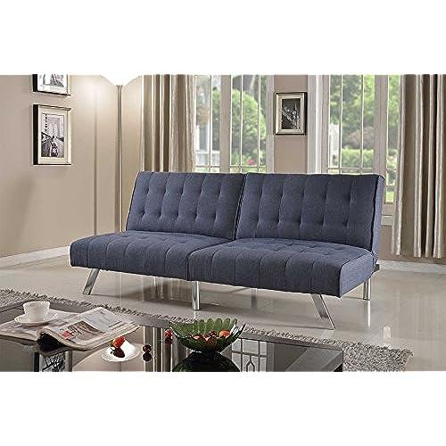 Schlafsofa Futon convertible sofa bed amazon com