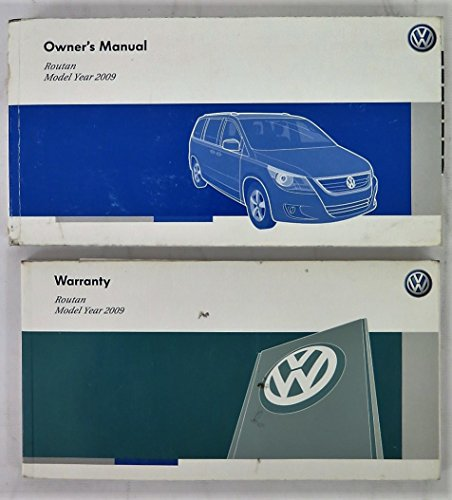 2009-volkswagen-vw-routan-owners-manual-guide-book
