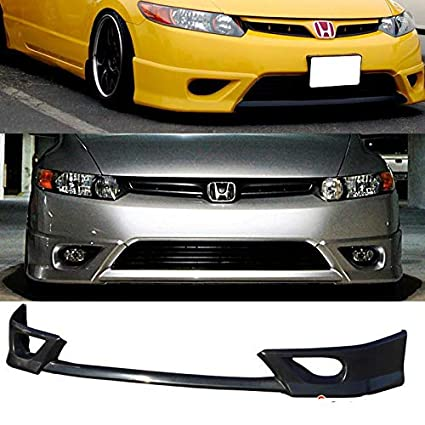 08 civic coupe front lip