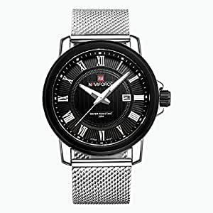 Naviforce Casual Watch For Men Analog Stainless Steel - nf 9079
