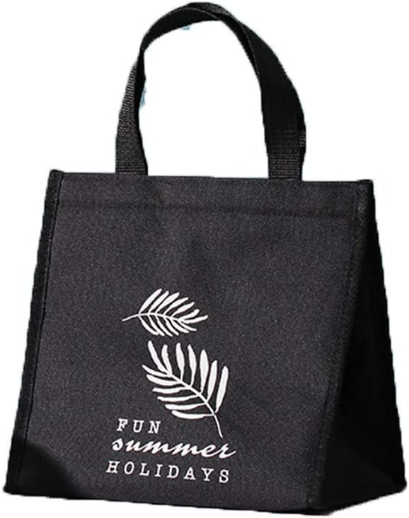 Portable Tote Bag-Large Picnic Lunch Cooling Bag-Oversized Travel Tote Bag Refrigerated Food and Drink(D)