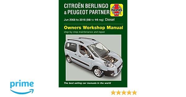 Citroen Berlingo & Peugeot Partner Diesel June 08 - 16 08 to 16 Haynes Repair Manual: Amazon.es: Peter T. Gill: Libros en idiomas extranjeros