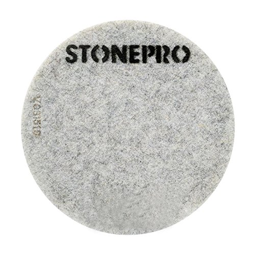 Stone Pro 27'' Diamond Impregnated Pads M1-800 Grit - Floor Polishing Systems - Easy To Use Maintenance System For Auto-Scrubbers, Burnishers and Swing Machines