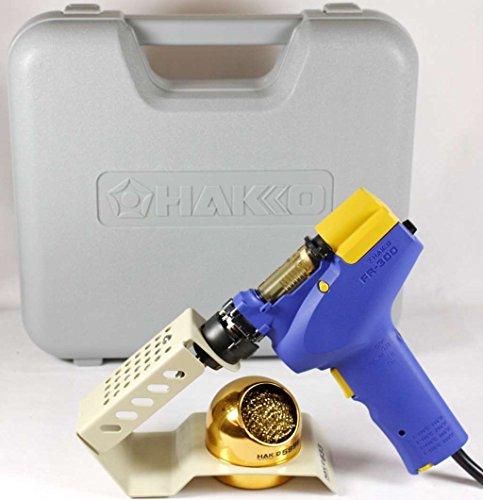Desolder Iron (Hakko FR300-05/P (FR-300) Handheld Desolder Gun With 633-01 Holder)