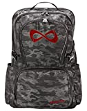 Nfinity Classic Camo Backpack (Camo/Red Rhinestone)