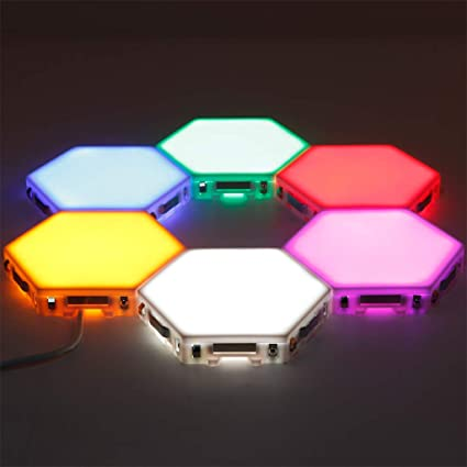 Image result for modular hex lights