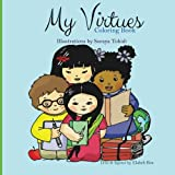 My virtues: Coloring book