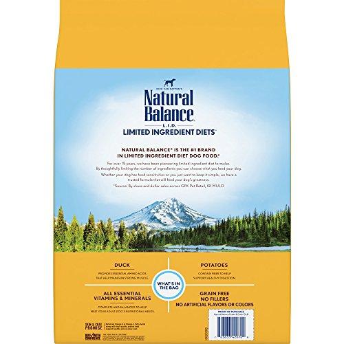 Grain Free Dog Food Natural Balance Duck Formula Dry