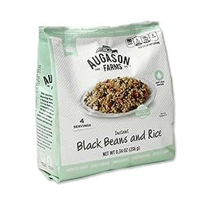 Amazon.com : Augason Farms Instant Black Beans and Rice 8