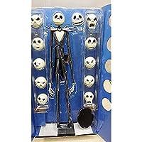 Accrie The Nightmare Before Christmas Jack Skellington 15″ Figure 12 Skull Heads Doll