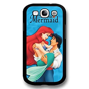Classic Disney Cartoon Movie The Little Mermaid Ariel Hard Plastic Phone Case Cover for Samsung Galaxy S3 - Black