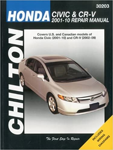 Honda Civic & CRV Service and Repair Manual: 2001 to 2010 (Haynes Service and Repair Manuals) by Maddox, Robert (2010)