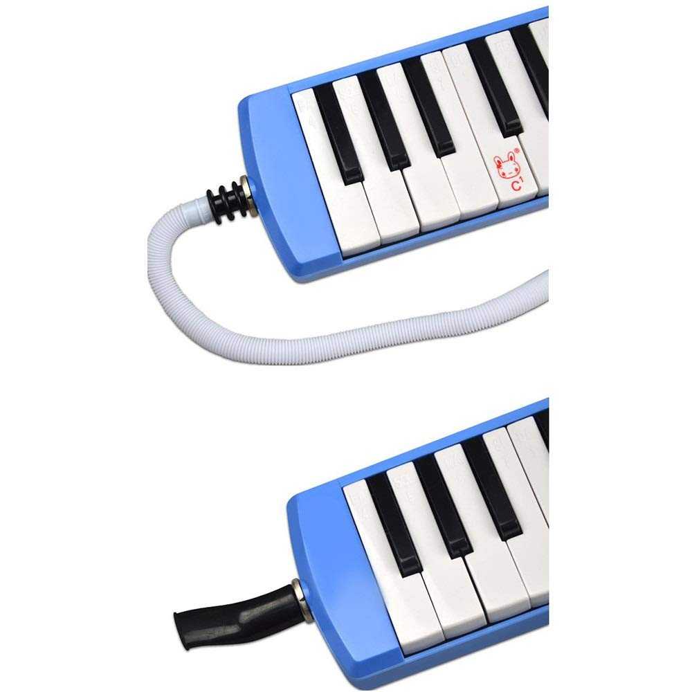 Melodica Musical Instrument Kids Musical Melodica Toys 32 Keys With Portable Carrying Case Mouthpieces Tube Sets Instrument Gift For Music Lovers Beginners Air Piano Keyboard for Music Lovers Beginner by Shirleyle-MU (Image #4)