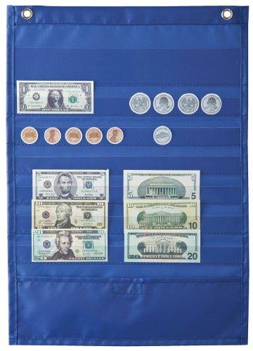 Money Organizer Deluxe - Carson Dellosa Deluxe Money Pocket Chart (158032)