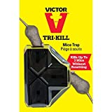 Victor Tri-Kill Mouse Trap, 1-Pack Size: 1-Pack, Model: M944, Home/Garden & Outdoor Store