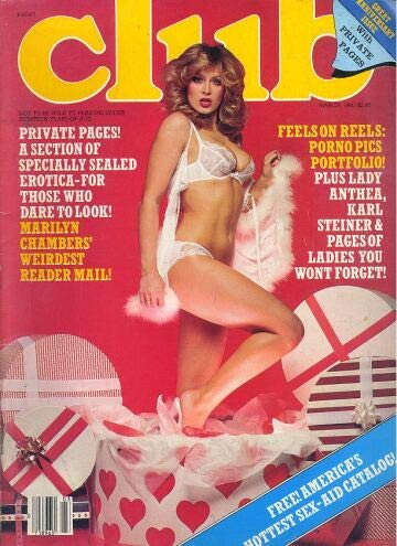 Club Adult Magazine Back Issue March 1981 Marilyn Chambers