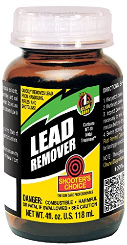 Shooter's Choice Lead Remover 4OZ Glass JAR