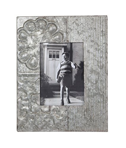 5x7 Embossed Metal Photo Frame