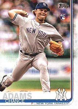 Amazoncom 2019 Topps Series 1 Baseball 98 Chance Adams Rc