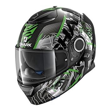Casque moto carbone