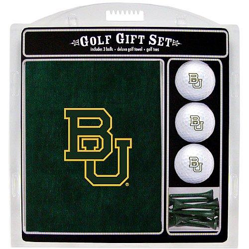 - Team Golf NCAA Baylor Bears Gift Set Embroidered Golf Towel, 3 Golf Balls, and 14 Golf Tees 2-3/4