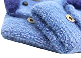 RARITY-US Unisex Warm Soft Winter Knit Gloves for