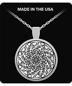 Mandala - Success Necklace-White