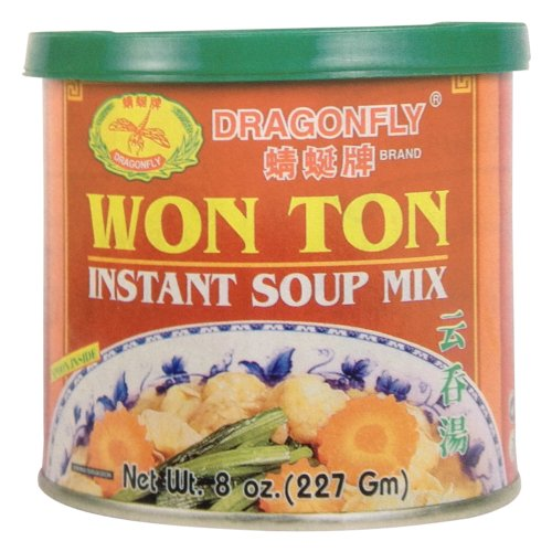 Tone Mix - Dragonfly Won Ton Instant Soup Mix, 8 Ounce