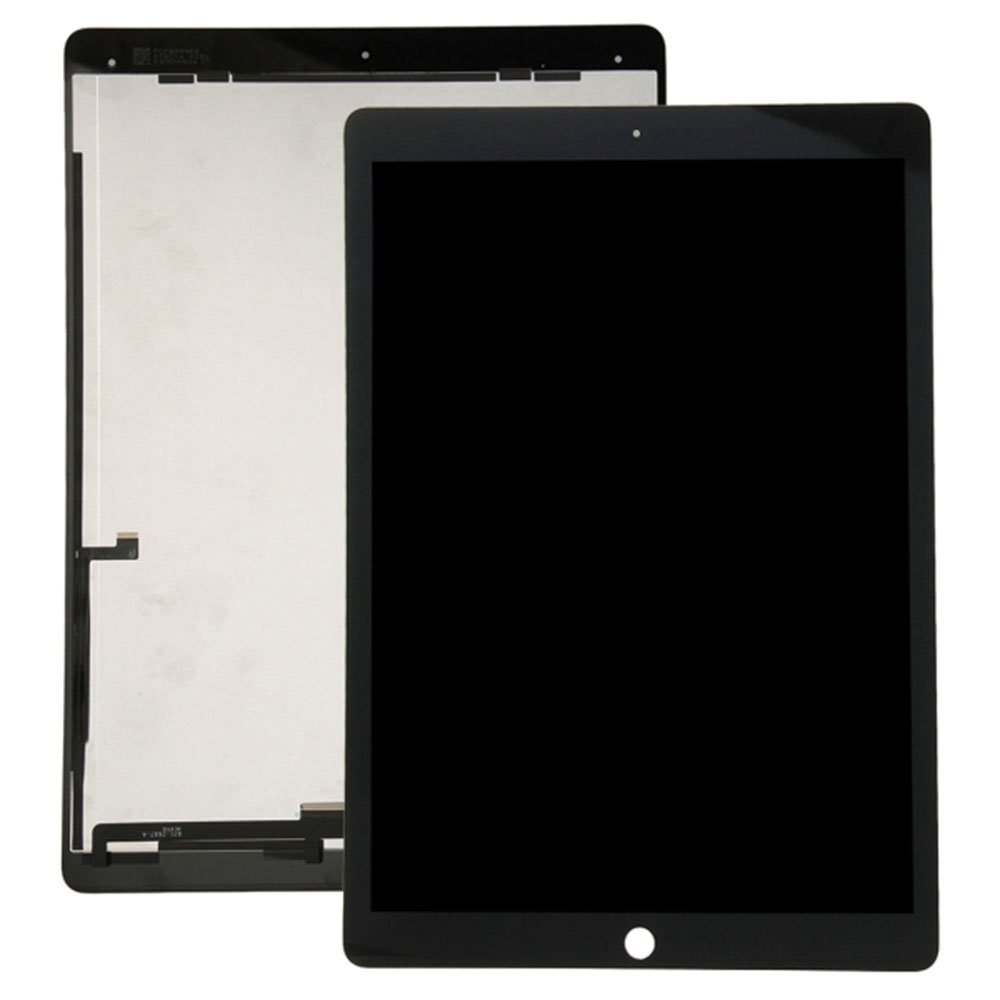 Touch Screen Digitizer and LCD for Apple iPad Pro 12.9'' - Black - Includes IC Chip by Group Vertical