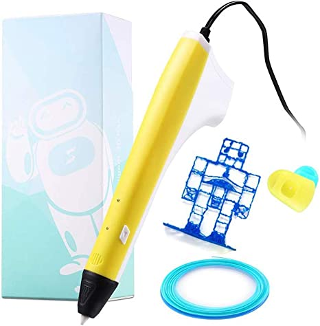 SLONG Impresión 3D Pen, con 1,75 mm de PLA/PCL filamento, un botón ...
