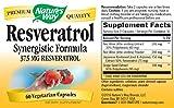 Natures Way Resveratrol Synergistic Formula Capsule - 60 vegetarian capsule per pack -- 3 packs per case Discount
