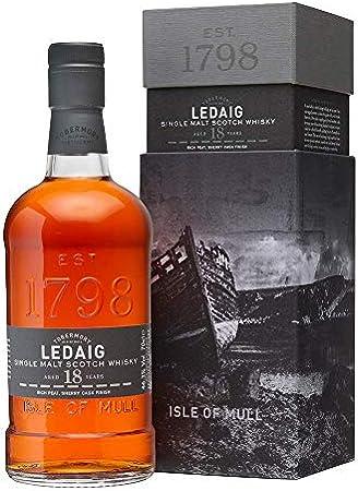 Ledaig 18 Years Old Limited Release Single Malt Scotch Whisky - 700 ml