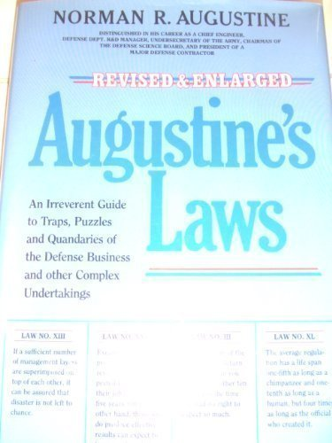 Augustine's Laws by Norman R. Augustine (1984-12-03)